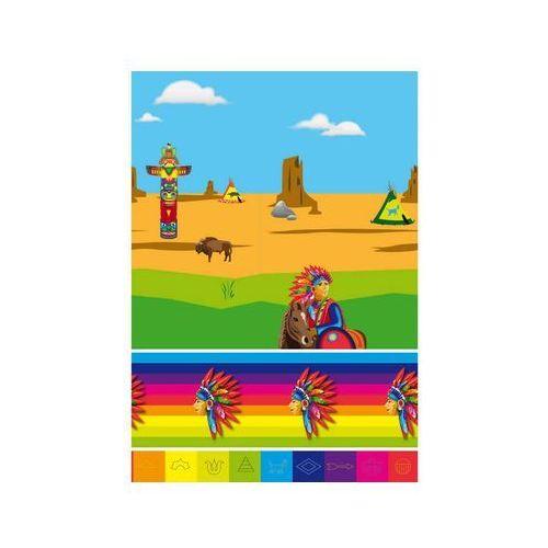 """Obrus foliowy """"indianie"""", , 180 x 130 cm marki Folat"""