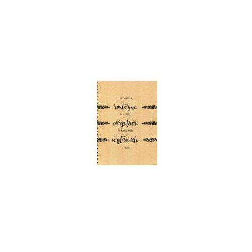 Mój dziennik liście marki Szaron