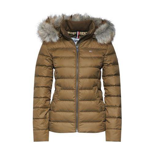 Tommy Jeans Kurtka zimowa khaki, zimowa