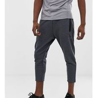 ASOS 4505 Tall skinny tapered training joggers in cropped length - Grey, len