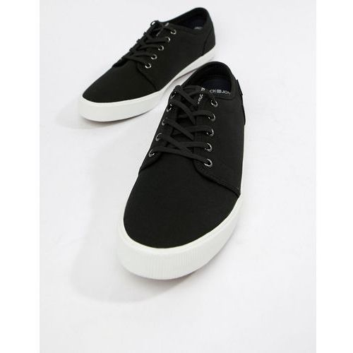 Jack & jones canvas trainers - black