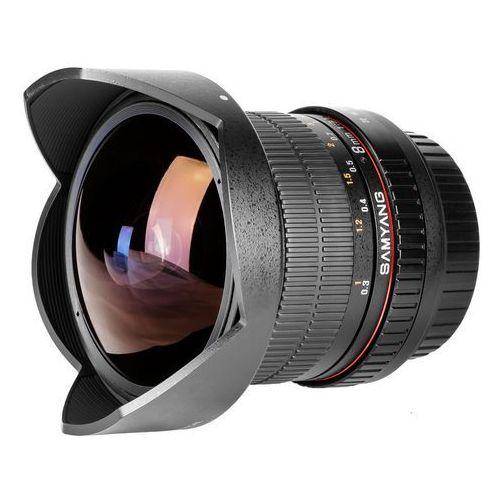 Samyang Obiektyw  8mm f3.5 h.d nikon ae (f1121903101) darmowy odbiór w 20 miastach!