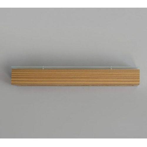 Cleoni Kinkiet caspe 70 z dolnym i górnym szkłem, 8806+/s