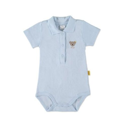 boys baby body 1/4 arm baby blue marki Steiff