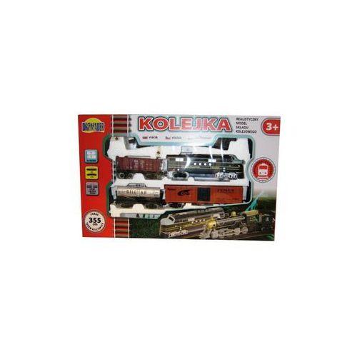 kolejka średnia 355 cm+3 wagony marki Dromader