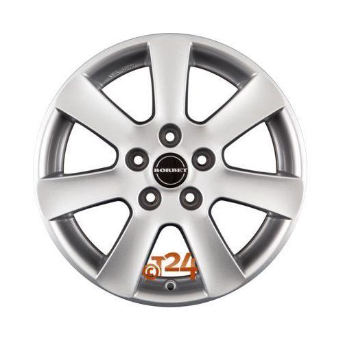 Felga aluminiowa Borbet CA 17 7 5x114,3 - Kup dziś, zapłać za 30 dni