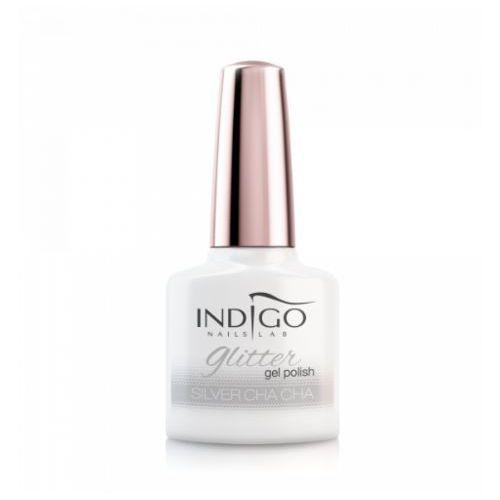 Indigo Silver Cha Cha Glitter Gel Polish 7ml (5902188539226)