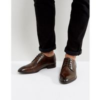 christie leather derby shoes - brown marki Base london
