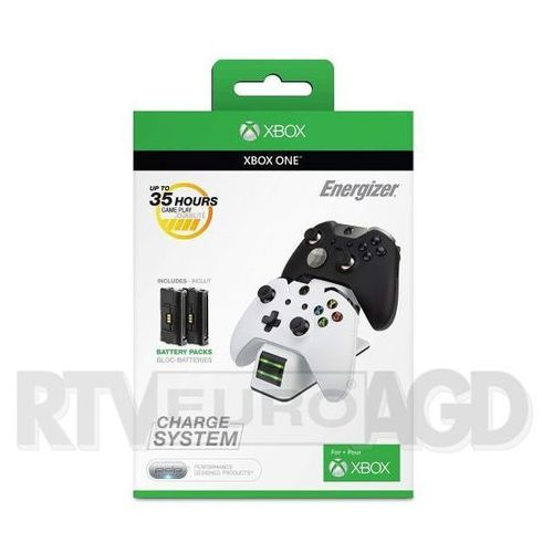 PDP Xbox One Energizer 2x Charge System 0018-EU-WH, 0018-EU-WH
