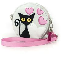 torebka na ramię czarny kot 15 cm marki Shellbag