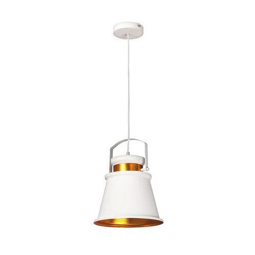 Lampa wisząca zwis oprawa Rabalux Dusan 1X40W E27 biały 2571