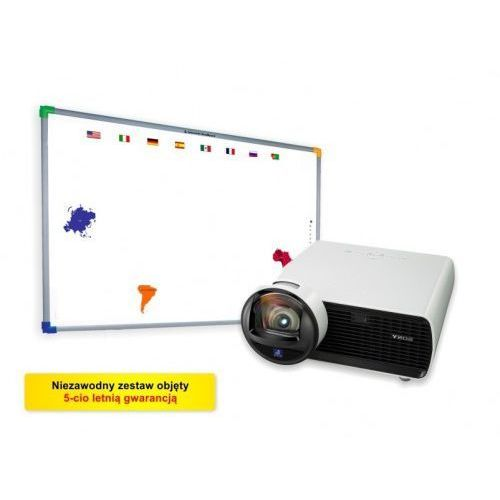 Interwrite Tablica dualboard 1279 + projektor sony vpl-sx 226 + uchwyt ścienny