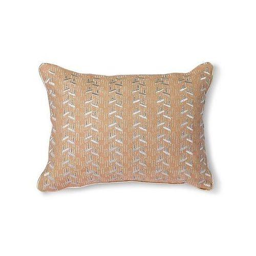 Hkliving poduszka nude ze srebrnymi przeszyciami (30x40) tku2097 (8718921036146)