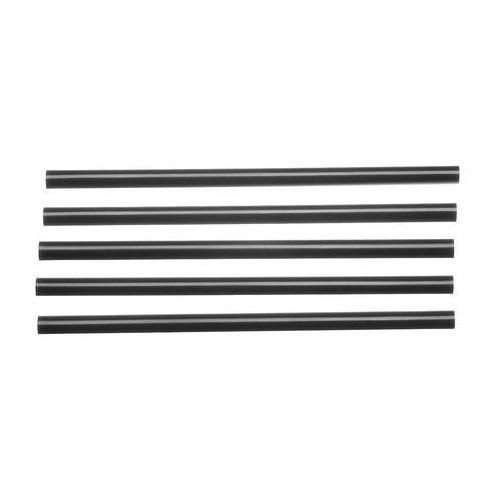 Tomgast Słomki, rurki krótkie, czarne 200 szt.   , ff-16756-8
