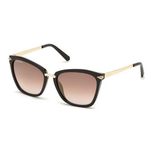 Okulary Słoneczne Swarovski SK0152 48G, kolor żółty