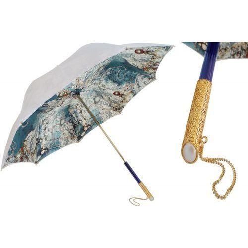 Parasol vintage pearled, podwójny materiał, 189 5d566-1 u5 marki Pasotti