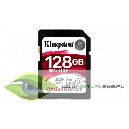 Kingston sd 128gb canvas react 100/80mb/s u3 uhs-i v30 a1 (0740617275957)
