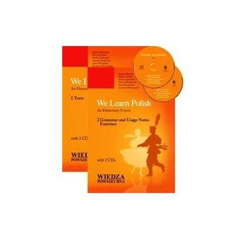 We learn polish 1-2. pakiet: 2 podręczniki + cd marki Wiedza powszechna
