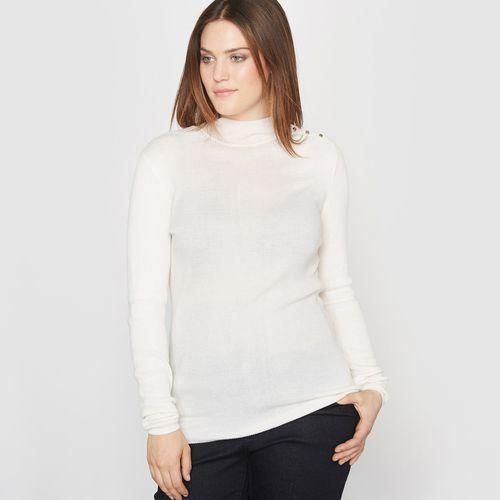 Sweter z golfem, żeberkowy splot marki Castaluna
