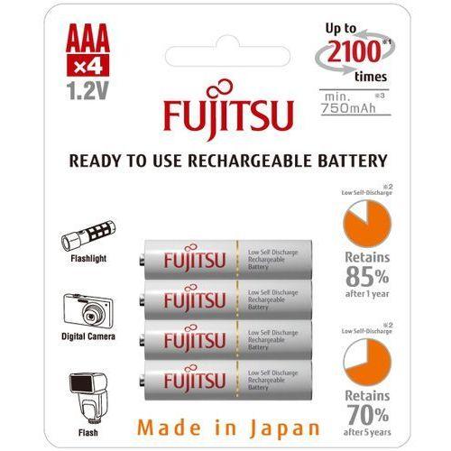 Fujitsu 4 x akumulatorki hr-4utcex r03/aaa 800mah