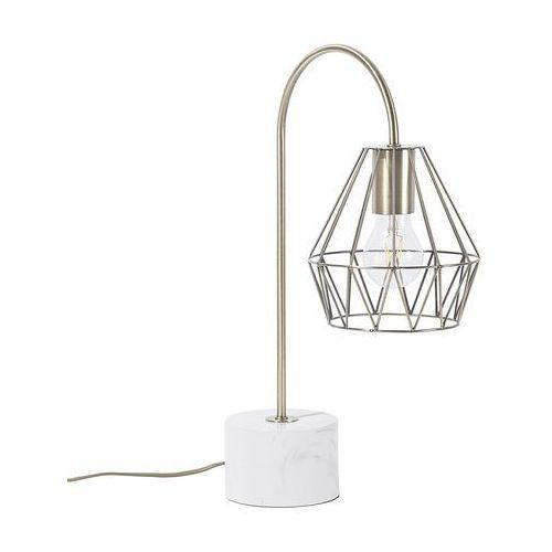 Lampa stołowa mosiężna MOONI średnia