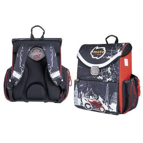 Tornister kasetonowy moto sport racing marki Spokey