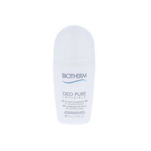 Biotherm Deo Pure Invisible 48h antyperspirant 75 ml dla kobiet (3605540856635)