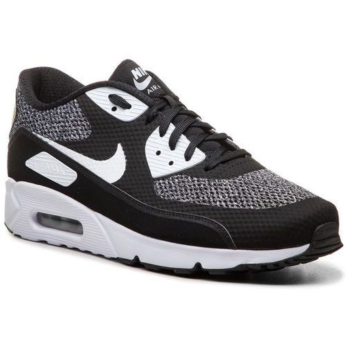 Nike Buty - air max 90 ultra 2.0 essential 875695 019 black/white/metallic silver
