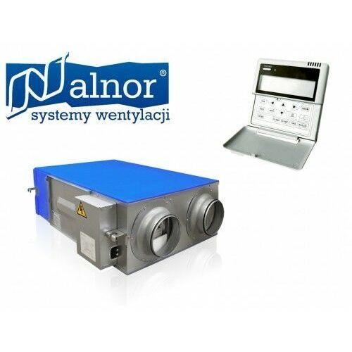 Alnor Rekuperator podwieszany z odzyskiem ciepła i wilgoci 350m³/h (hru-ergo-350)