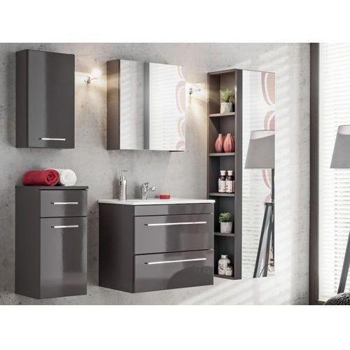 Zestaw molly - meble łazienkowe - kolor szary marki Shower design