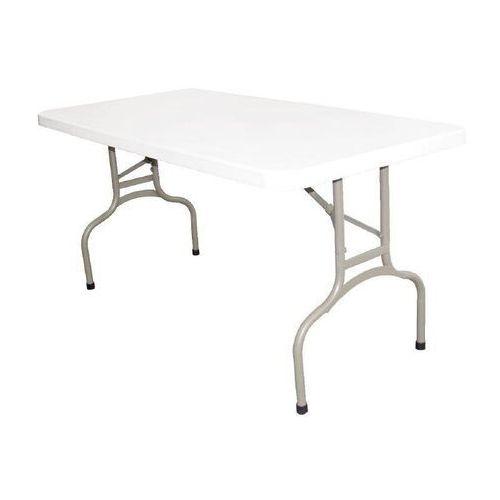 OUTLET - Stół składany biały | 152x75,3x(H)73,7cm