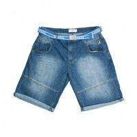 Kangol Punk Jeansowe Szorty Męskie Duże Rozmiary, jeans