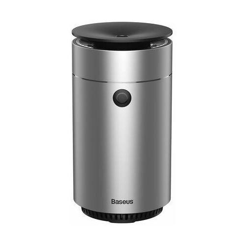 Baseus elektryczny nawilżacz powietrza do domu biura samochodu 75 ml srebrny (dhsg-0s) - srebrny (6953156224254)