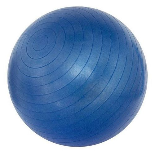Piłka gimnastyczna anti-static, anti-burst 75cm - odcienie niebieskiego marki Avento