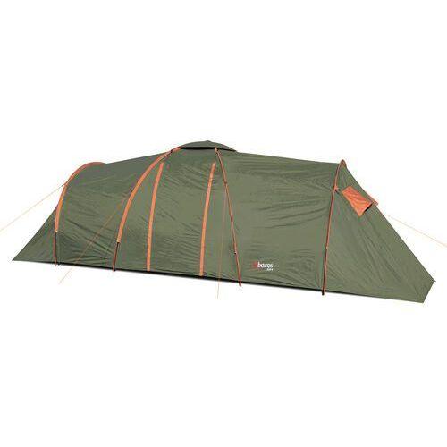 Namiot turystyczny Abarqs CLIF-6B Zielony 6-osobowy dwie sypialki