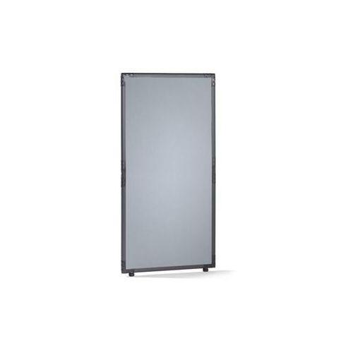 Ścianka działowa, filc, rama w kolorze szarym łupkowym, srebrno-szary, wys. x sz