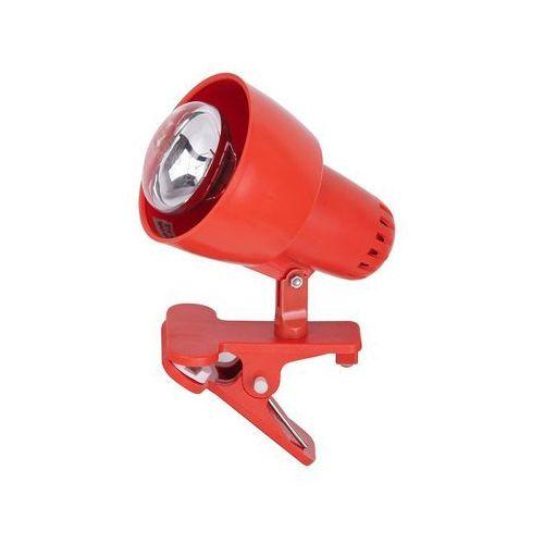 Lampa stołowa lampka klips Rabalux Clip 1x40W E14 pomarańczowy 4358, 4358
