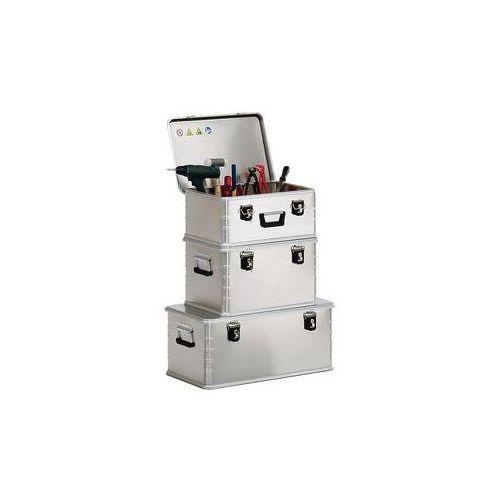 Aluminiowy pojemnik combi,zestaw z 4 pojemnikami