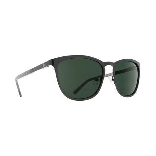 Okulary Słoneczne Spy CLIFFSIDE Cliffside Black/Black Marble - Happy Gray Green