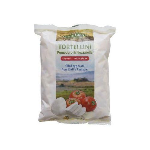 Tortellini jajeczne z pomidorami i mozarellą bio 100 g- , marki La bio