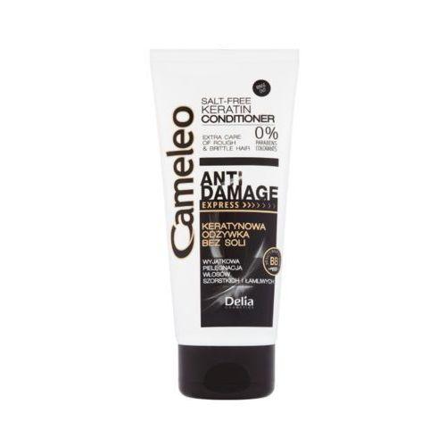 Delia cosmetics 200ml cameleo ekspresowa odżywka keratynowa do włosów zniszczonych
