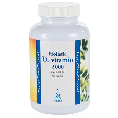 Witamina D3 2000 cholekalcyferol Holistic 180 kapsułek, produkt z kategorii- Witaminy i minerały