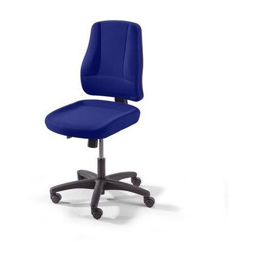 Krzesło obrotowe z siedziskiem nieckowym, wys. oparcia 540 mm, kolor obicia: nie