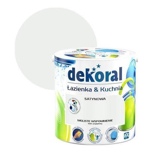 Farba satynowa łazienka i kuchnia mgliste wspomnienie 2,5 l marki Dekoral