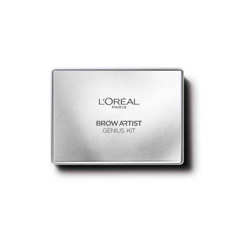 L'oréal paris - zestaw do stylizacj brwi - brow artist genius kit medium to dark