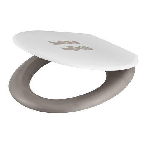 Deska WC GoodHome Genoa wolnoopadająca z duroplastu men/woman, HY-UF69-94