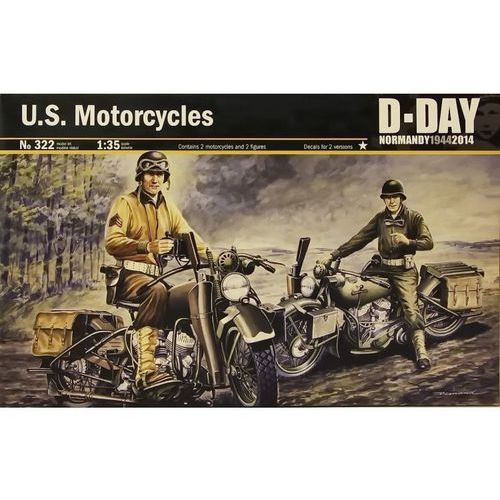 Italeri ITALERI U.S. Motorcyles WWII D-Day (8001283003223)