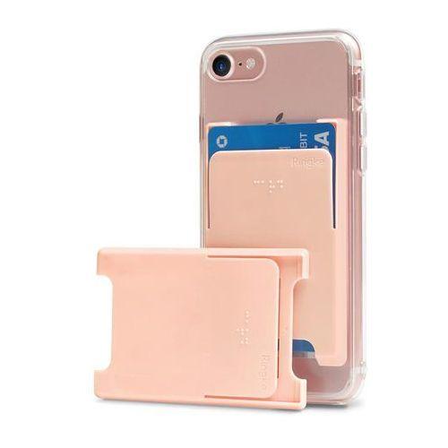 Ringke Slot Card Case etui na karty dokumenty przyklejane do telefonu różowy (ACSC0003), kolor różowy