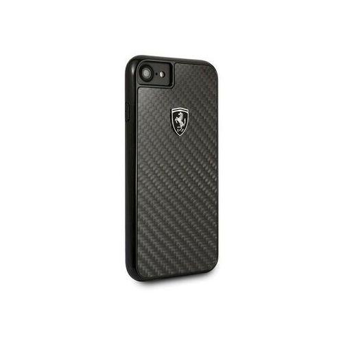 Ferrari Hardcase FEHCAHCI8BK iPhone 7/8 black/czarny Carbon Heritage, kolor czarny