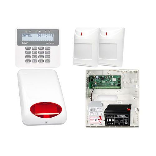 Alarm perfecta 16 + 2 czujki pir + akcesoria marki Satel